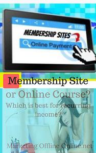 Membership or Course