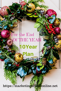 End of Year Plan