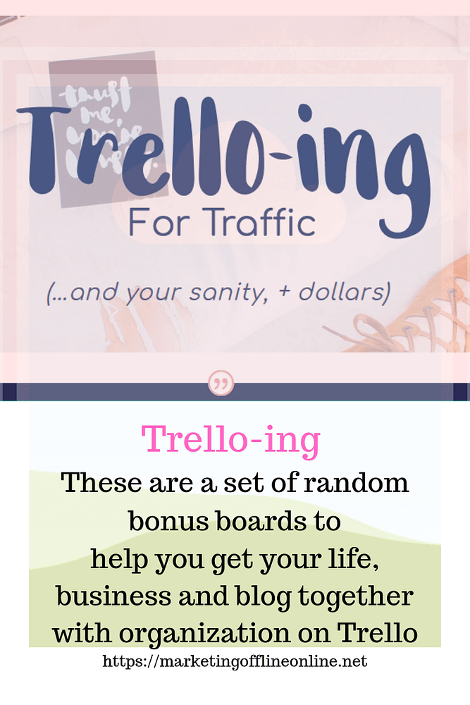 Trellow-ing for traffic