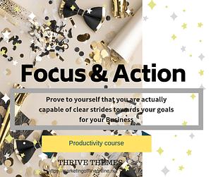 Focus & Actioin