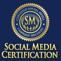 social media certification