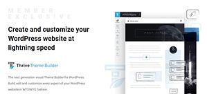 Thrive Themes Website Builder