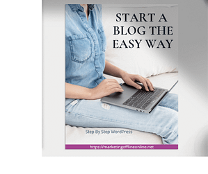 Start a blog the Easy Way