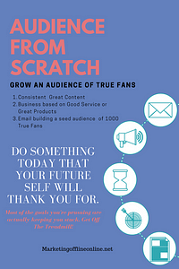 Audience from scratch for you.