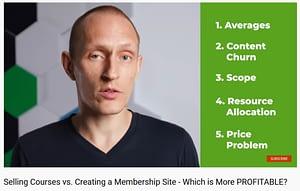 Course vs Membership