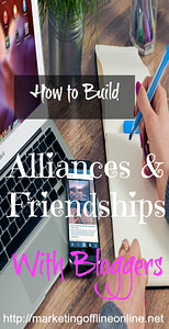 Allianced & Friendships with bloggers