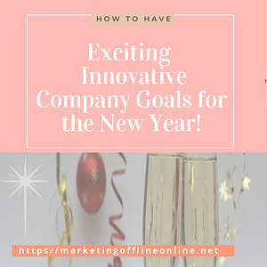 Company Goals for the New Year