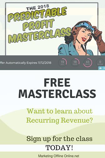 Free Masterclasss