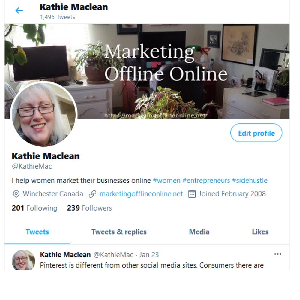 Twitter KathieMac