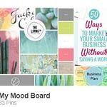My Pinterest Mood Board