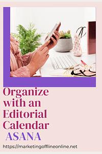 Asana Editorial Calendar